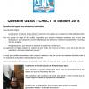 [UNSA] Questions de l'UNSA pour le CHSCT du 15 octobre (14h Besançon)